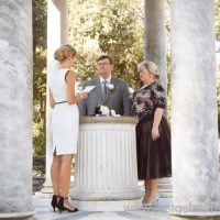 renewing vows in Rome, Temple of Diane, villa borghese